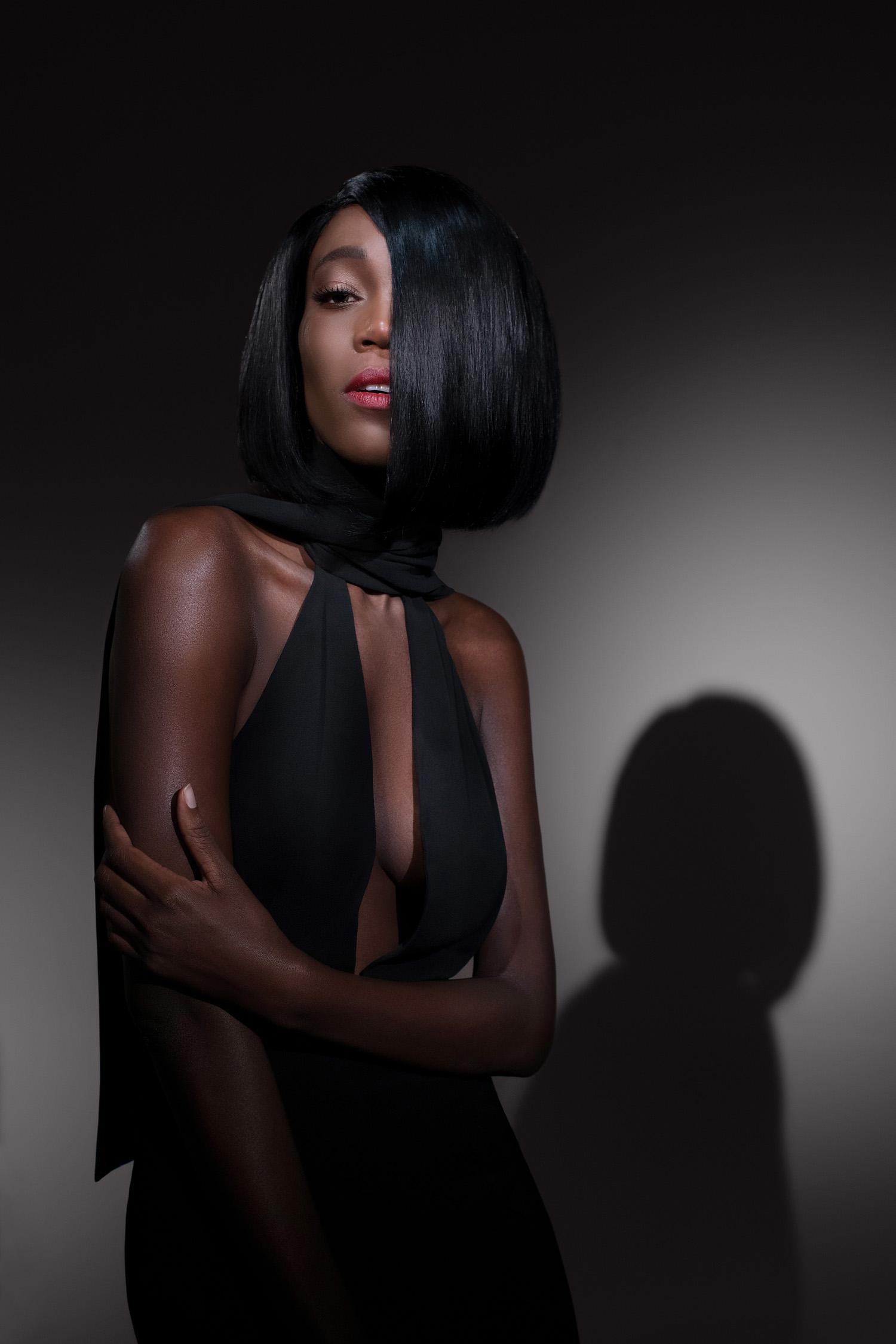Beatnik Luxury Full Lace Black Wig- 360 Frontal Lace 2