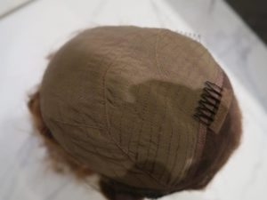Lace Front Wig close-up