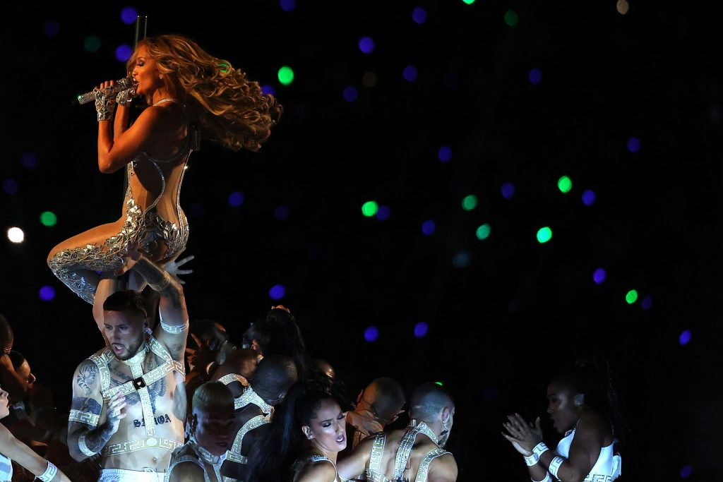 Jennifer Lopez and The Super Bowl Waves