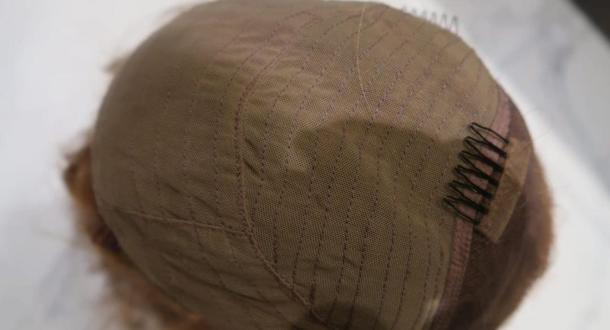 Closure Wig cap with Seams